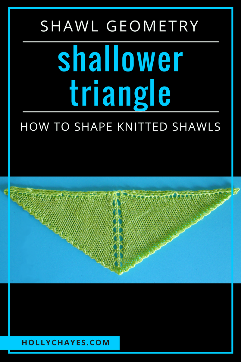 Shawl Geometry: all the knit shawl shapes you could even need