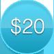price button $20