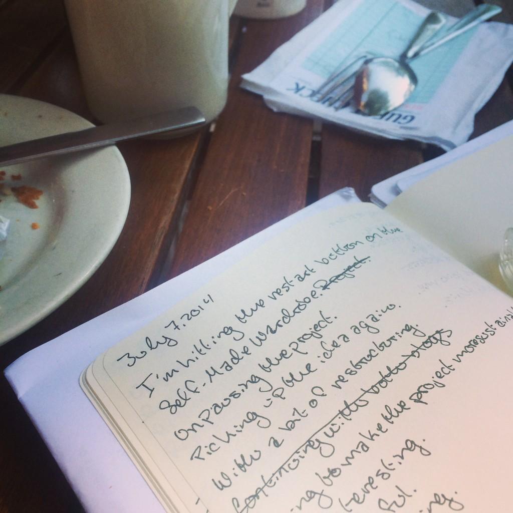 monday morning writing