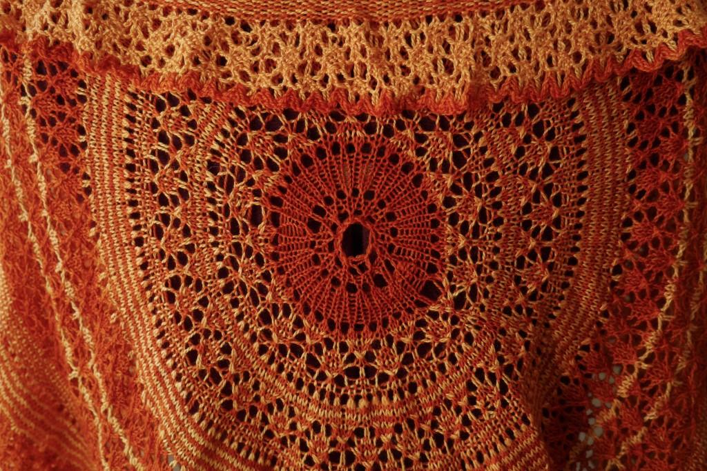 Eirwen knitted shawl 2