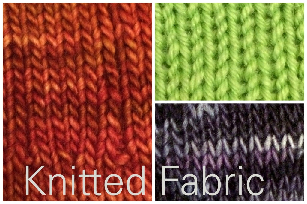 knitted fabric samples