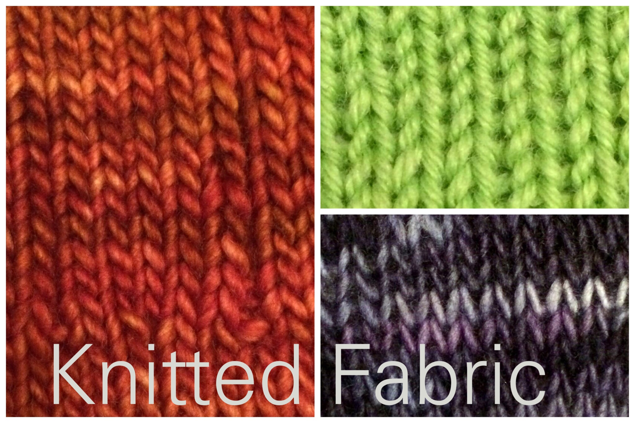Knitting Fabric : Holly chayes what s the difference between knit and