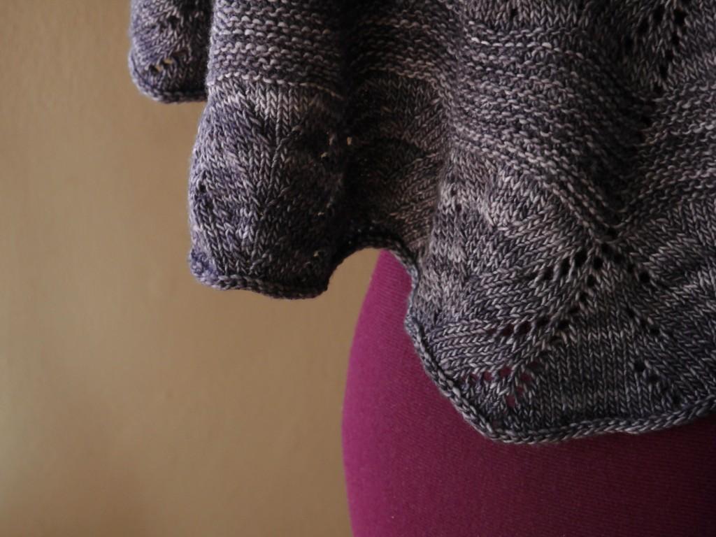 Kora knitted shawl 2
