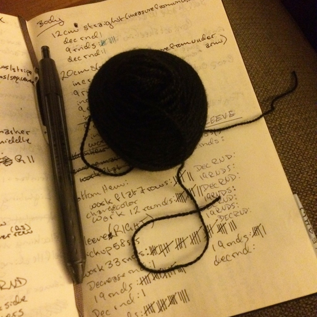 small ball of yarn