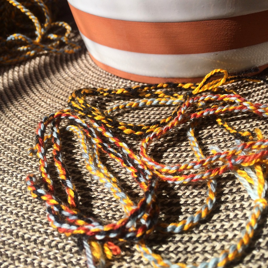 colorful cording