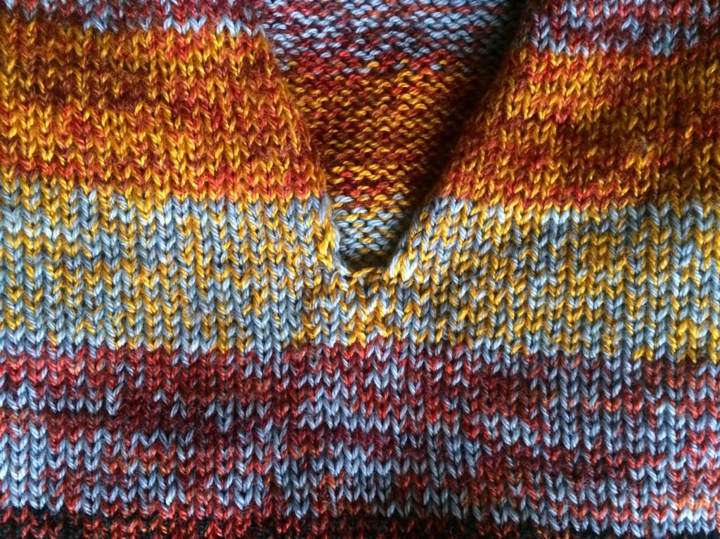 knitting close up