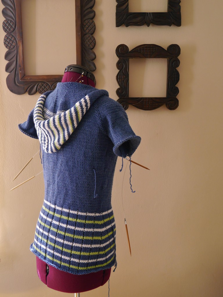 Knitted Sweater-Back