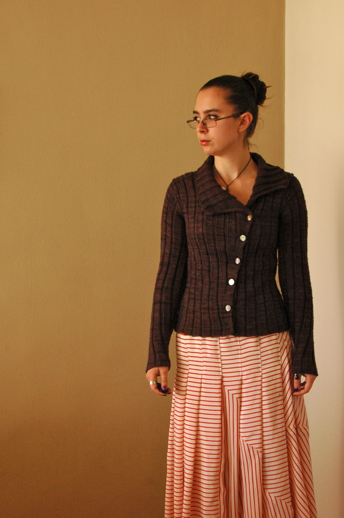 Moonstruck Cardigan and Pirate Skirt