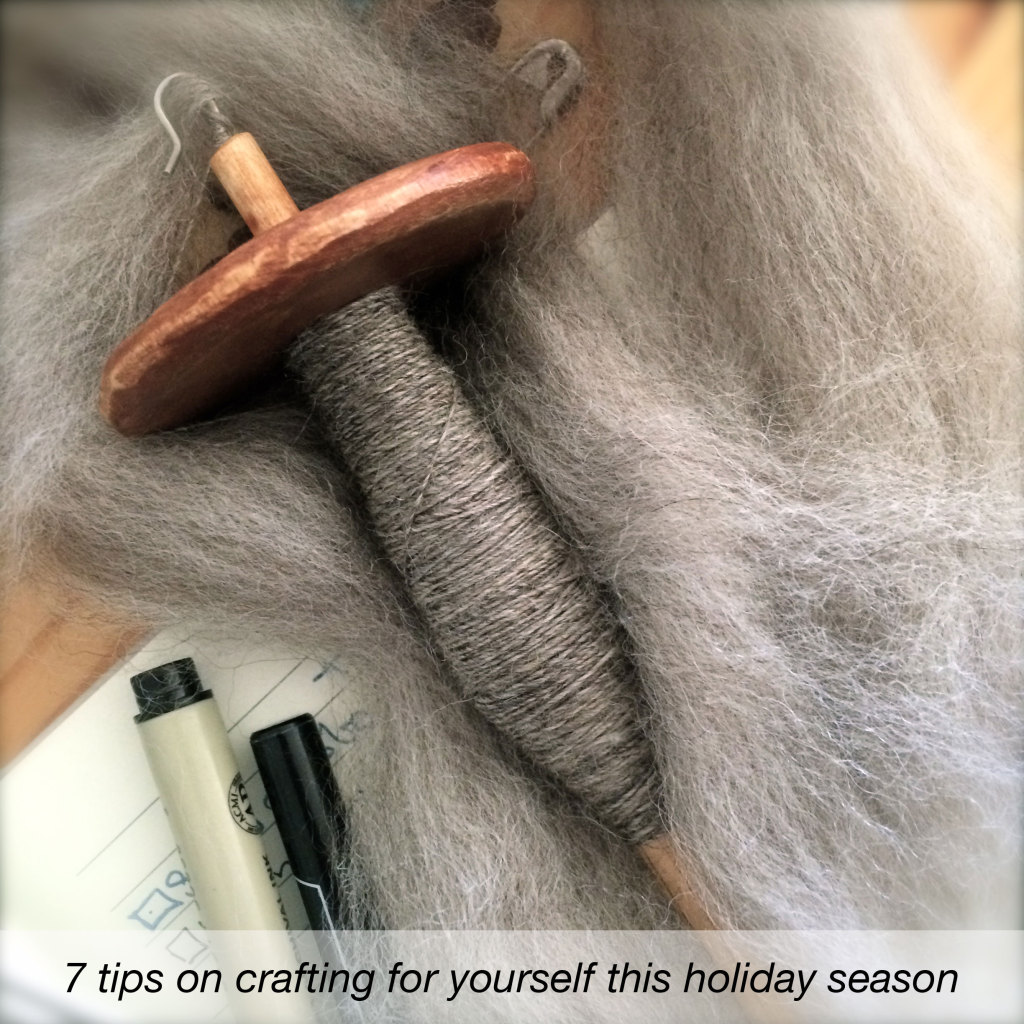 7 tips on crafting for yourself this holiday season