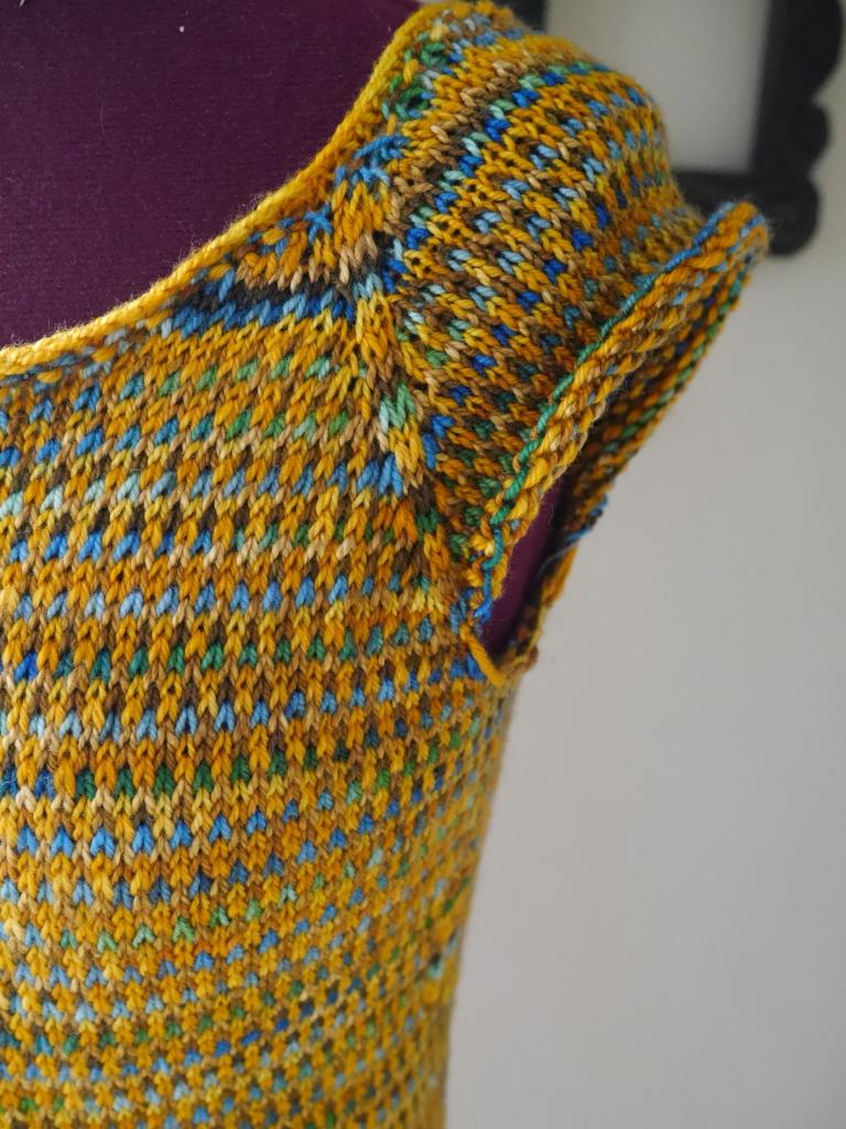 colorwork sweater yoke