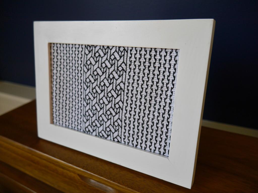 modern blackwork embroidery