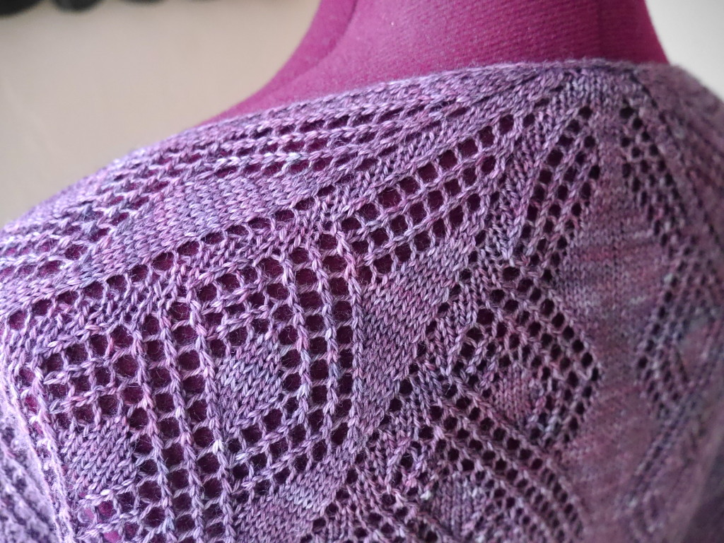 Knitting Pattern For Shawl Sweater : Holly Chayes   one sweater, one shirt, two shawls   lots of making happened t...