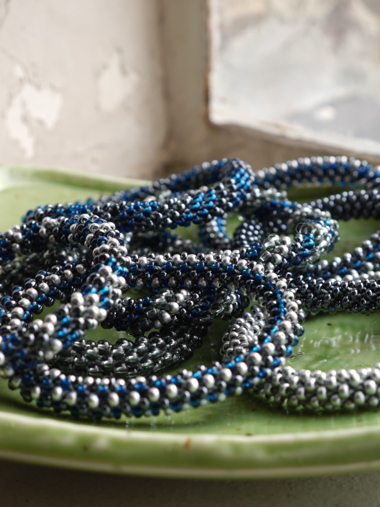bead crochet braceletes