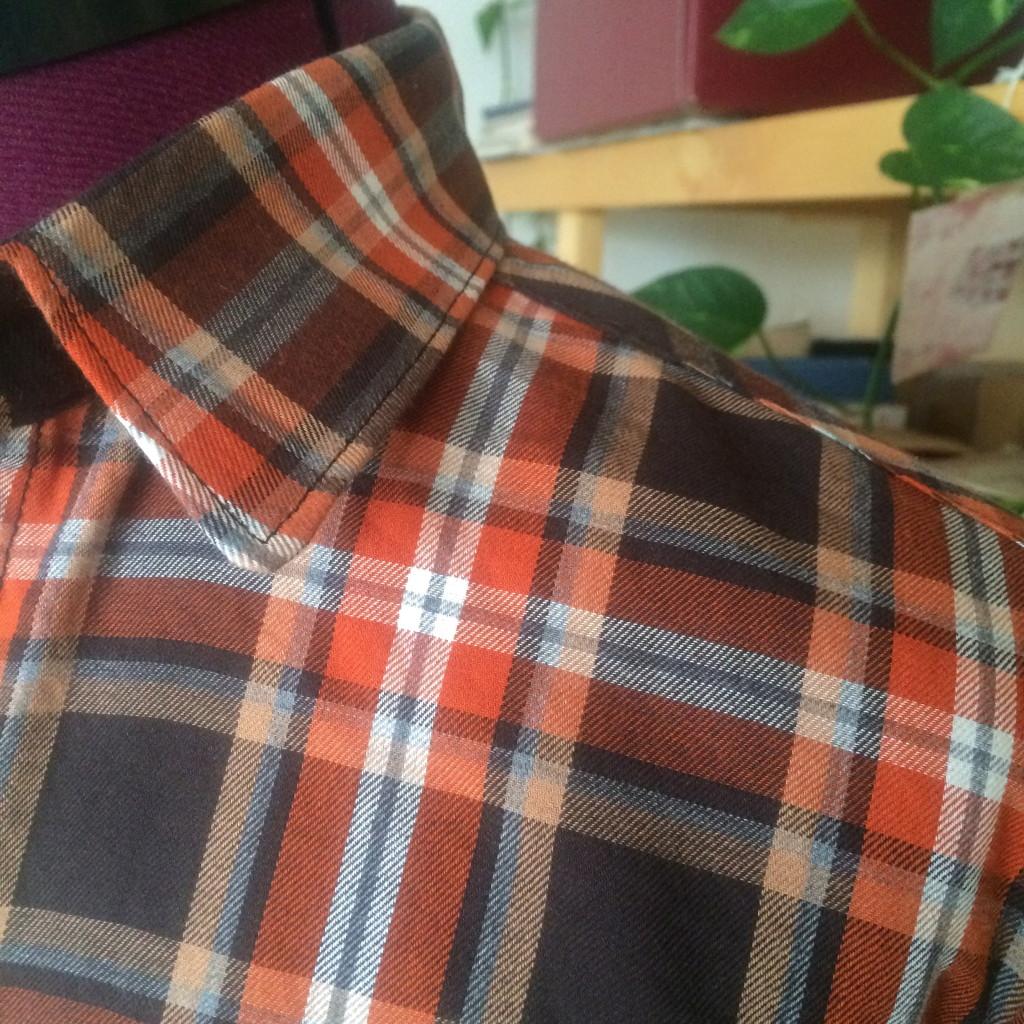 Archer shirt collar