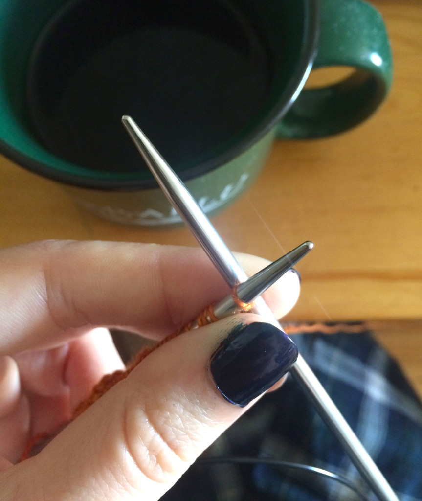 knitting-with-coffee