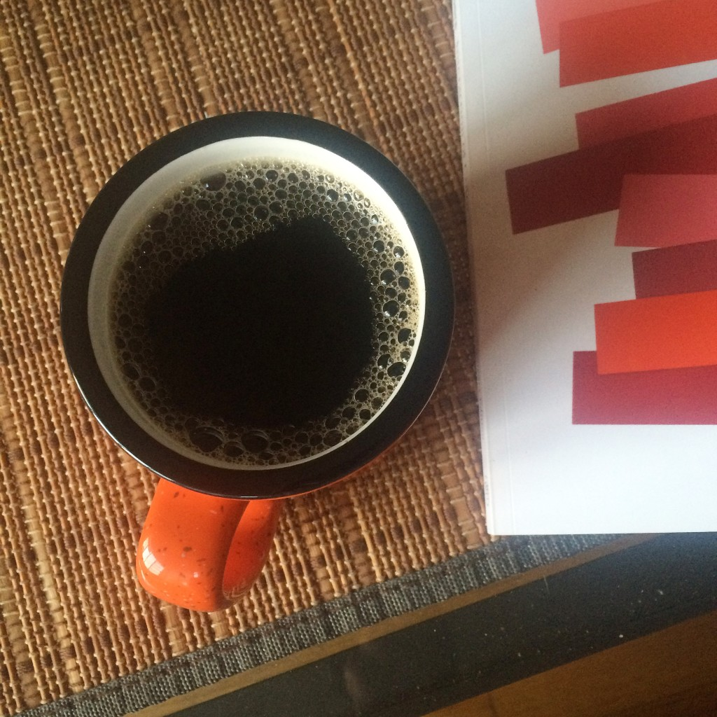 to read over coffee