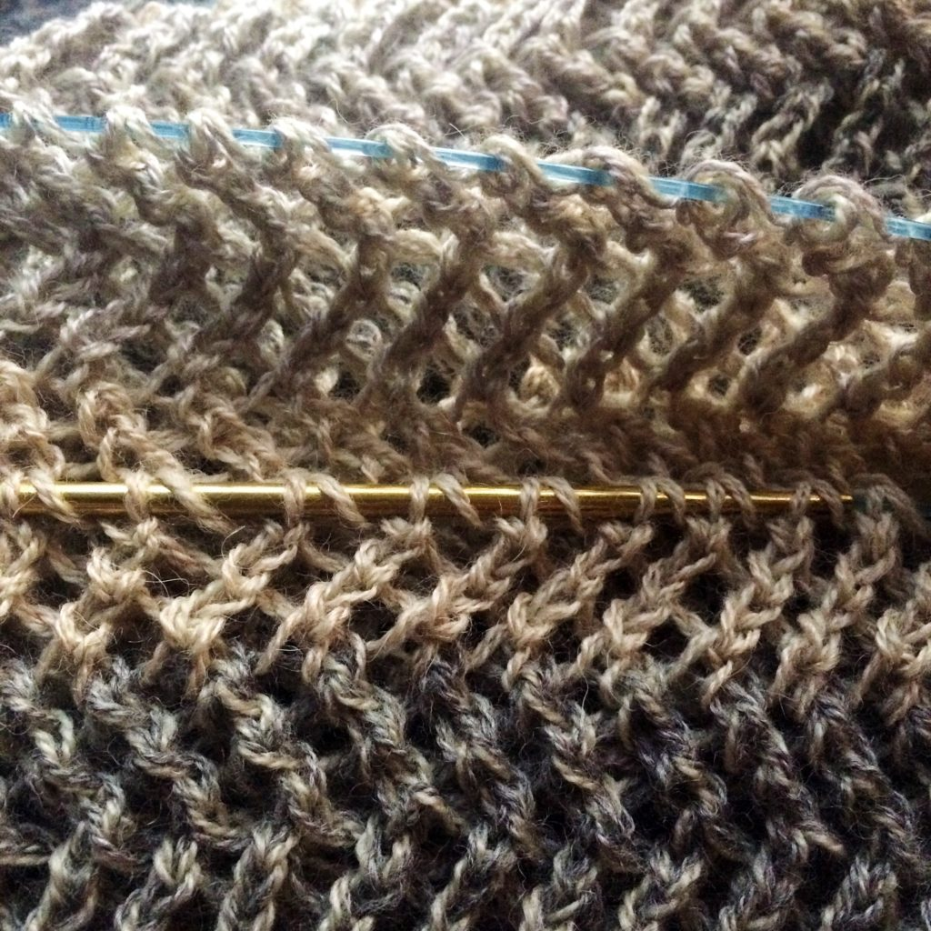 ripping back knitting