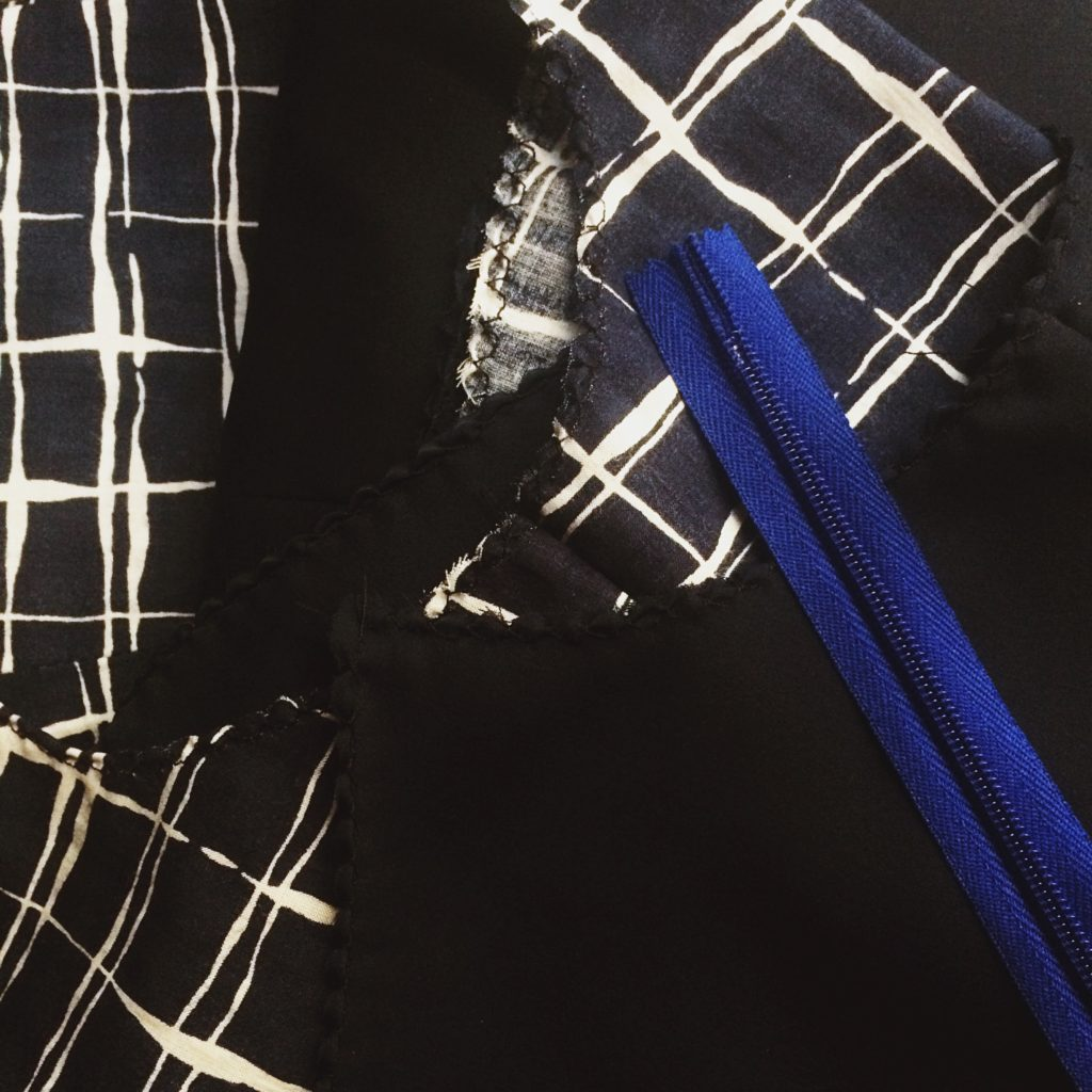 sewing maxi dress