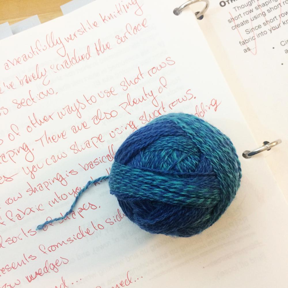 spinning yarn and editing